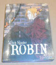 Witch Hunter Robin - Chapters 1-26 3-DVD Set
