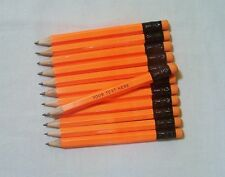 """96 """"NEON ORANGE""""  Personalized Golf Pencils with Erasers"""