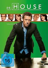 4 DVDs * DR. HOUSE - STAFFEL / SEASON  4 # NEU OVP +