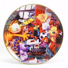"Garfield Collector Plate ""All I Want For Christmas"" w/ COA"
