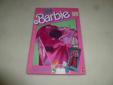 NEW ON CARD BARBIE CITY STYLE FASHIONS SET NO 4434  MATTEL 1987 NOC