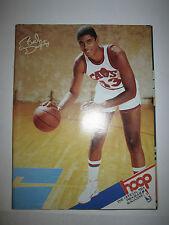 (9) 1987 NBA PLAYOFFS & MORE HOOP OFFICIAL NBA PROGRAM MAGS -BOX BPR
