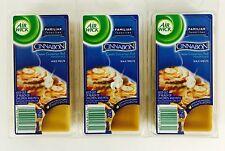 3X Packs Air Wick Cinnabon Classic Cinnamon Roll Scented Wax Melts = 24 Total