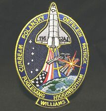 NASA Space Program STS-116 12AJ Shuttle Discovery Patch ISS Assembly Spacehab