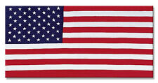 USA American Flag Beach/ Bath Towel (30 x 60)  Stars Stripes Red White Blue