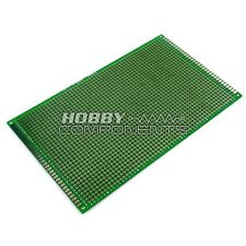 Double-Sided Glass Fiber Prototyping PCB Universal Board (9 x 15 cm)