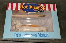 WESTLAND-HOT DIGGITY DOG PAINT YOUR OWN WEINER KIT BRAND NEW NIB RARE HTF ONLY 1