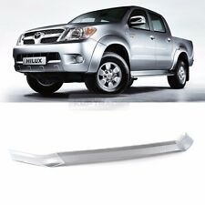 Chrome Front Bonnet Guard Bug Shield Molding Trim Cover for TOYOTA 2005-10 Hilux