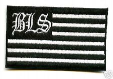 BLACK LABEL SOCIETY FAN CLUB COLLECTIONS BLACK LABEL SOCIETY BLS FLAG PATCH
