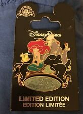The Little Mermaid 25th Anniversary LE 2000 Disney Pin