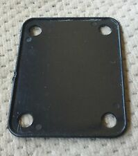 Peavey Strat Style Electric Guitar Neck Plate Original Black Pad