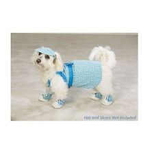 Eastside Collection Dress Gingham Bluebird Dog XS