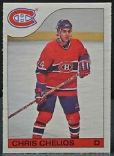 1984-85 CHRIS CHELIOS - Canadiens - #51 - O-Pee-Chee - RARE