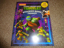 TEENAGE MUTANT NINJA TURTLES STICKER BOOK TREASURY - 350+ STICKERS BN FREE P+P