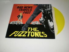 "THE FUZZTONES  - Bad News Travels Fast - LIMITED EDITION 12"" YELLOW EP - 1986"