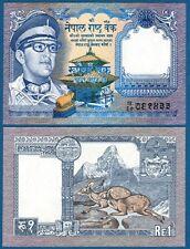 NEPAL 1 Rupee (1974)  UNC   P.22