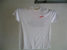 """RED STRIPE Lager Beer White Extra Large T Shirt 2-sided XL Anvil """"Hooray Beer!"""""""