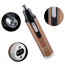 KM-6619 Rechargeable Nose Ear EyeBrow Hair Trimmer Shaver Cleaner Health Care q1