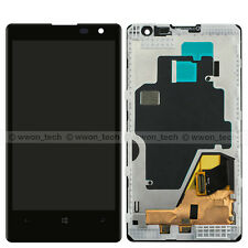 Black Nokia Lumia 1020 LCD Display Touch Screen Glass Digitizer Assembly+Frame