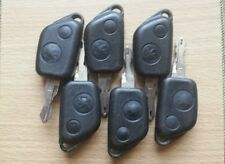 PEUGEOT 306 106 206 405 ETC 2 BUTTON REMOTE KEY FOB - TESTED