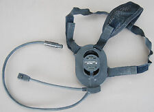 ORIGINAL BOWMAN MILITARY HEADSET WITH HEADBAND PRR H4855 PRC-343 ROLE RADIO