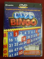 DVD Video Game Live Bingo play on your home dvd player NEW SEALED
