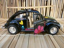 1967 CLASSIC VW PEACE & LOVE BUG SURFBOARD OLE LONGBOARD FIN SURF BEACH 1:32