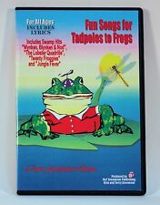 """""""FUN SONGS FOR TADPOLES TO FROGS"""" Terry Grosvenor FOR ALL AGES include lyrics CD"""