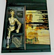 "STAR WARS MASTERPIECE C-3PO C3PO 12"" FIGURE & TALES OF THE GOLDEN DROID SW BOOK"
