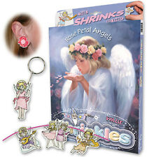 ROSE Petal ANGELI ORNAMENTI SHRINKLES SHRINK ART PARAURTI Box Set & Matite