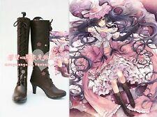 Cosplay Schuhe Stiefel Boots Kuroshitsuji Black Butler Ciel Handarbeit Gr.34-42