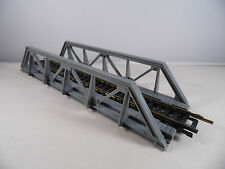 Vintage  HO Scale Train Accessories Tyco Truss Bridge with Track