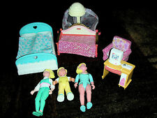Lot Of Fisher Price Loving Family Dollhouse Furniture & People Lot 3