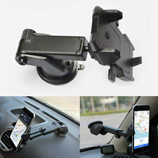 Universal Easy One Touch Auto Lock 360° Car Holder Suction For GPS/Cell Phones