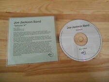 CD Pop Joe Jackson - Volume IV (11 Song) Promo RYKO DISC