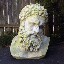 "Hercules Bust Heracles Farnese 22"" Museum Sculpture Replica Reproduction"