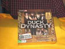 2013 DUCK DYNASTY REDNECK WISDOM NEW SEALED Family Party BOARD GAME By Cardial