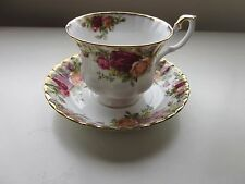 Royal Albert Old Country Roses Cup and Saucer England
