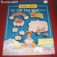 Off The Wall by LaRae Parry - Decorative Tole Painting Book - Cows - Signs