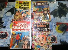Marvel Comic Francis #1 Archie's Clean Slate The Cross and the Switchblade L@@K