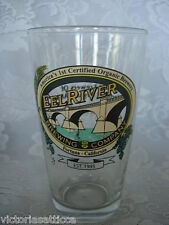 Collectible EEL RIVER BREWING COMPANY Fortuna, California Beer Glass / Tumbler