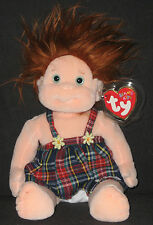 TY BEANIE KIDS - GINGER - MINT with MINT TAGS