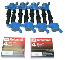 05-08 EXPEDITION 5.4L 8+IGNITION COILS HEAVY DUTY BLUE +8 MOTORCRAFT PLUGS SP515