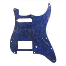 Guitar Pickguard for Fender Stratocaster Strat Blue Pearl HS Single Humbucker