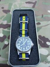 Improved 50m waterproof MWC G10 watch with date +.PWRR strap. Princess of Wales