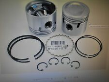 Triumph Spitfire & MG 1500 1973-1980 +.030 Over Piston Set of (4) with Rings