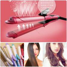 Salon Portable 2 in 1 Curler & Straightener #G Hair Iron Curling Ceramic Wave