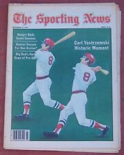 SEPTEMBER 15, 1979 SPORTING NEWS BOSTON RED SOX CARL YASTRZEMSKI BASEBALL