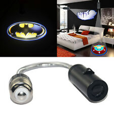3D batman bagde Home Bar ceiling E26 E27 LED logo shadow projection light bulb