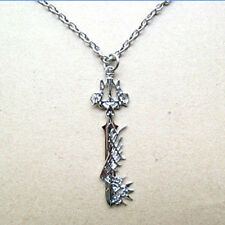 KINGDOM HEARTS 2 CIONDOLO COLLANA KEYBLADE ULTIMA WEAPON ARMA SORA DISNEY 3